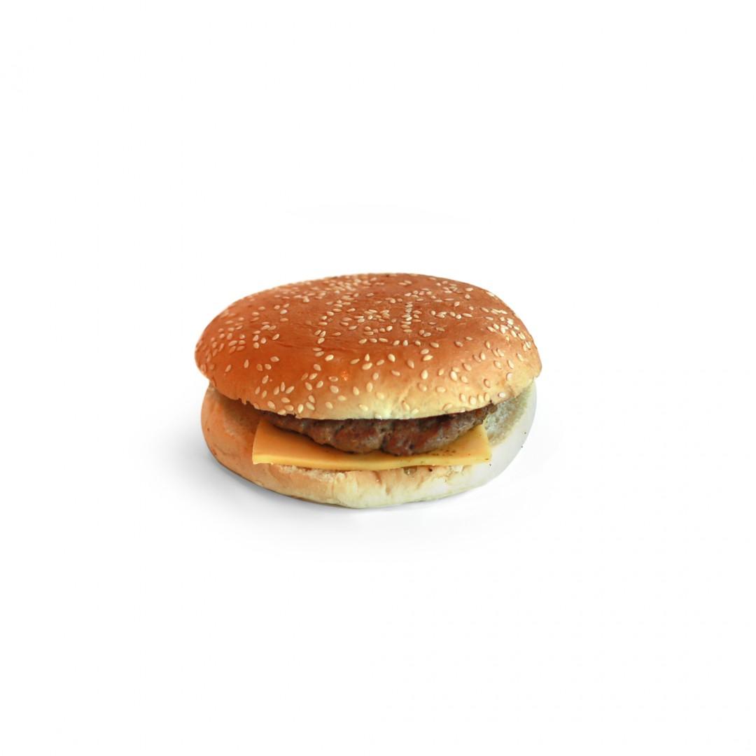 ..Barnemeny Cheese Burger