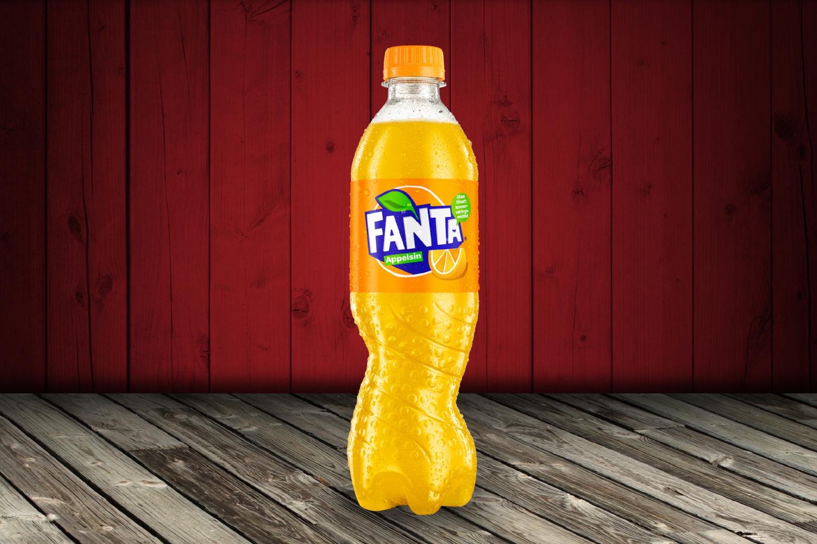 Fanta Appelsin 0.5L