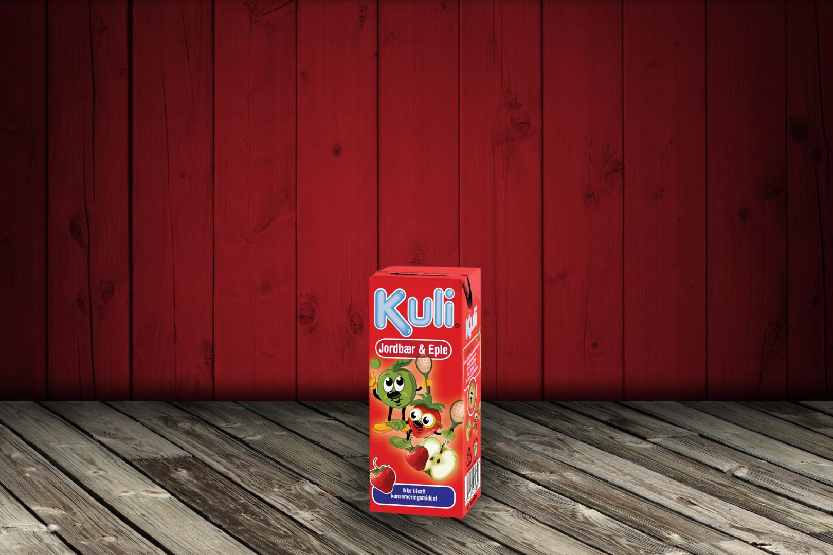 Kuli Jordbær & Eple 0.2L