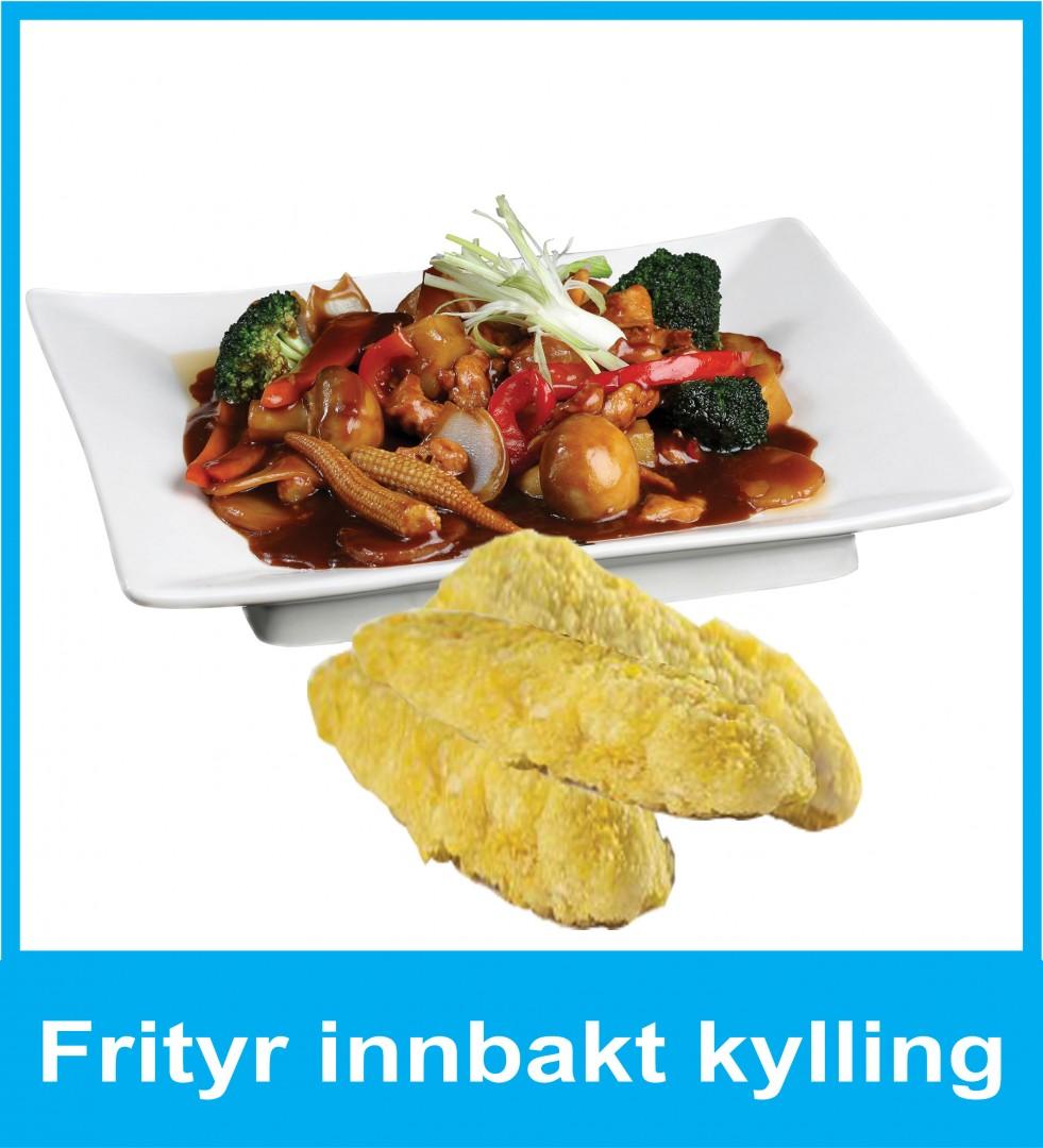 04. Frityr innbakt kylling