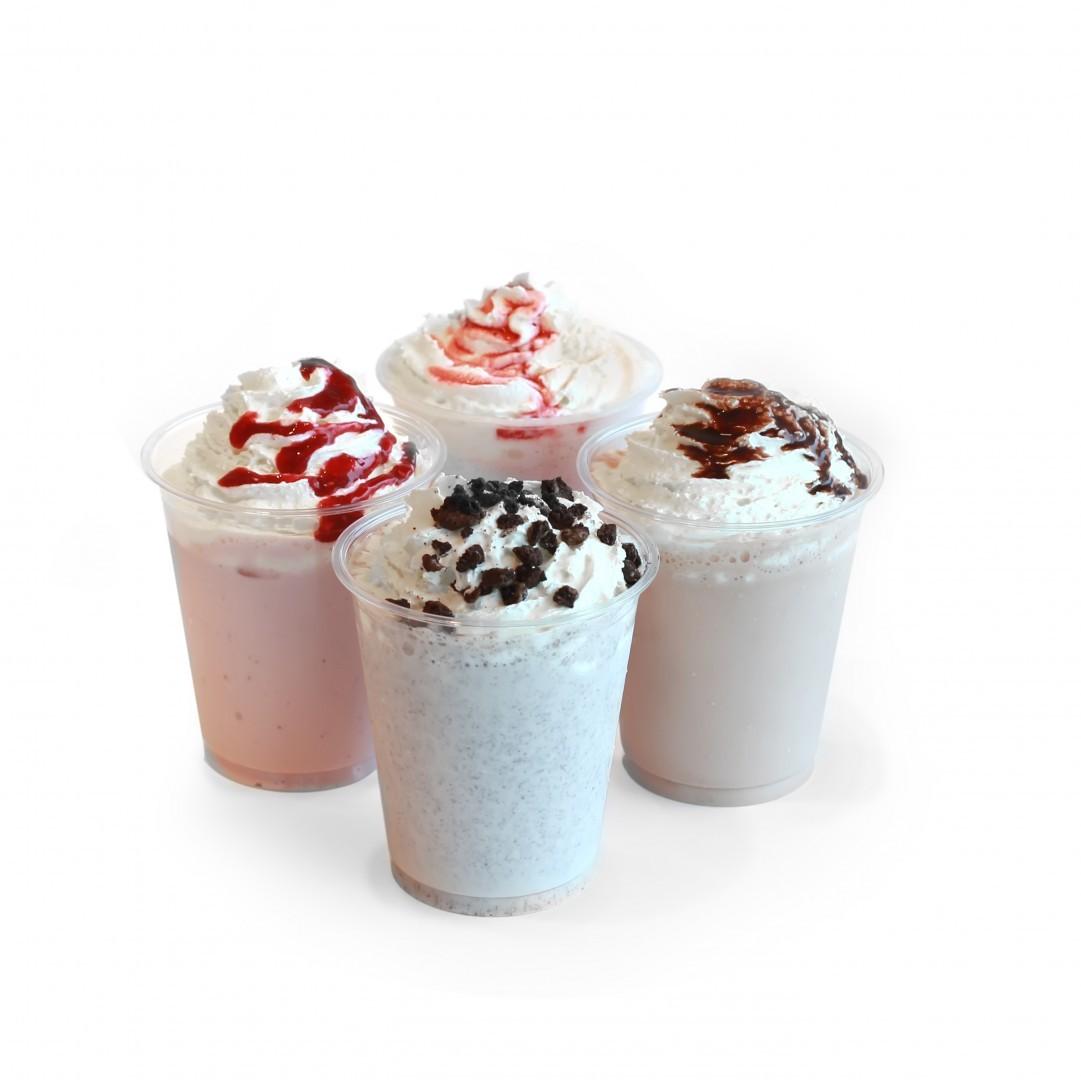 ...Milkshake Bringebær